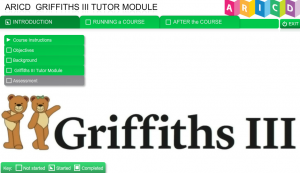 tutor module screen shot